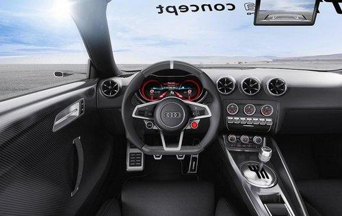 奥迪TT超轻量概念车 2.0T引擎/车展发布