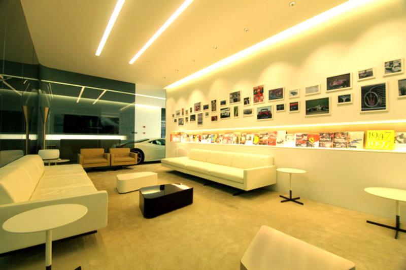 法拉利玛莎拉蒂东莞展厅 双雄耀世开启 图片浏览 -法拉利玛莎拉蒂东莞