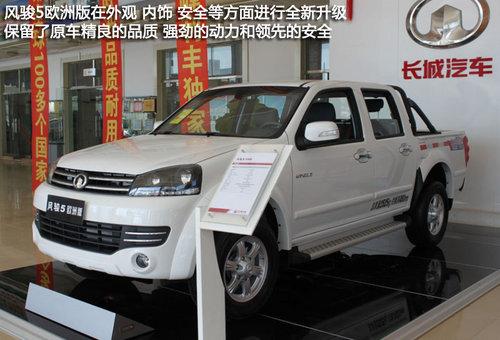 赤峰利丰长城风骏5欧洲版车到店 可预订高清图片