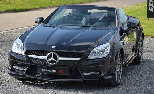2013款奔驰slk改装 外观变动力性能提升 高清图片