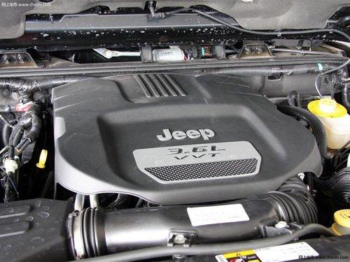 动力总成方面,jeep吉普牧马人搭载3.6l自然吸气发动机,最大功高清图片
