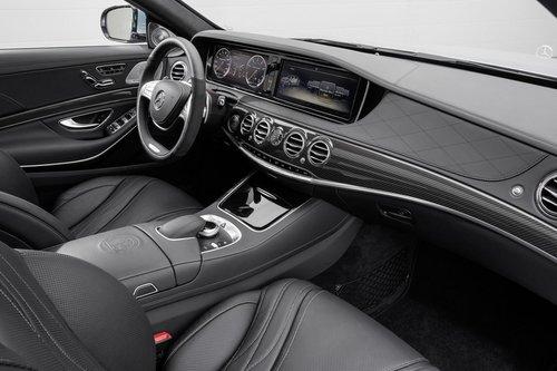 2014款奔驰S63 AMG官图 法兰克福将发布