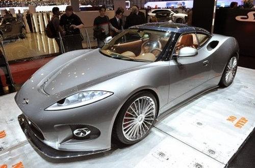 世爵即将发布B6 Venator Spyder概念车