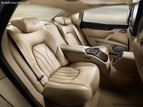 动力方面,2013款玛莎拉蒂总裁v6   车型   则装备了3.0t双高清图片