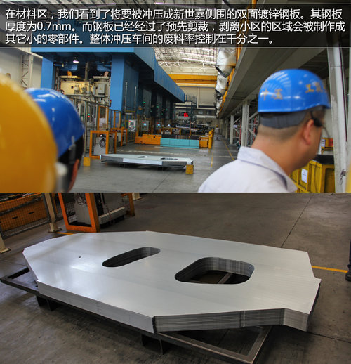 新世嘉诞生地探秘  见证钢板变整车流程