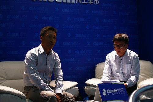 网上车市专访MG品牌运营部高级经理李鹏