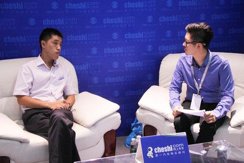 网上车市专访上典汽车总经理蒋龙海