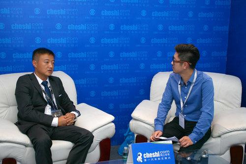 网上车市专访辰宇雷克萨斯总经理朱立