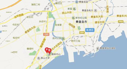 秦皇岛奥迪奥体中心车展于九月正式开幕