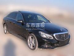 北京奔驰新E级混动谍照 3.5L自吸加电机