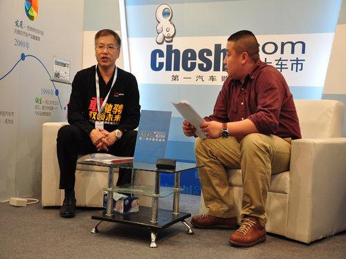 专访东南三菱销售部副部长陈孝民