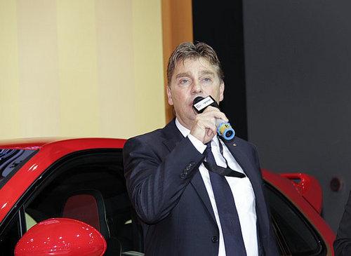 保时捷个性品牌 泰卡特整车闪耀登陆中国