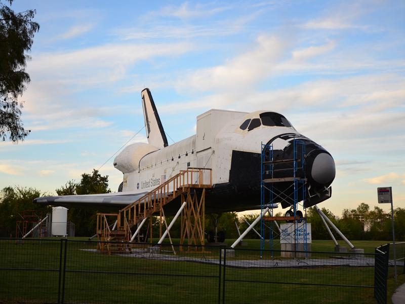 没有发射架的航天中心 美国休斯敦游记