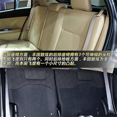 时尚两厢小车对比 丰田致炫对比本田飞度高清图片