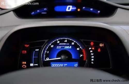 汽车仪表盘高清图片
