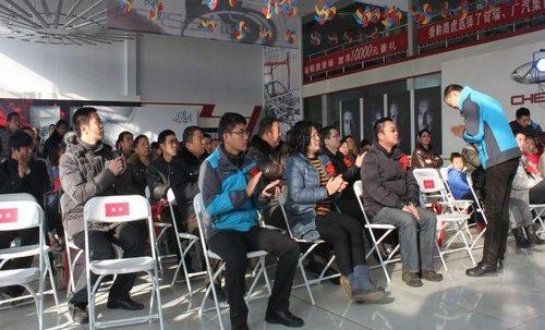 邢台奇瑞瑞虎5  瑞曼专营店正式发布上市