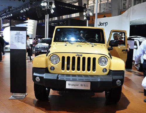 Jeep牧马人3.0L车型 上市售43.99万