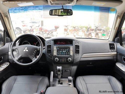 2014款三菱帕杰罗  现车感受经典大越野