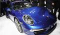 性能出色 保时捷911 Carrera 4/4S亮相巴黎车展(图)