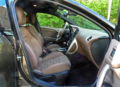 长安PSA DS4前排座椅空间介绍