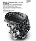 采用全新发动机 奥迪A5推新1.8TFSI车型