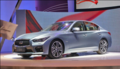 英菲尼迪Q50上海车展亮相 主推混合动力
