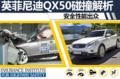英菲尼迪QX50碰撞成绩解析 安全性能出众
