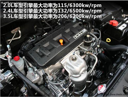 本田雅阁发动机系统配件简介高清图片
