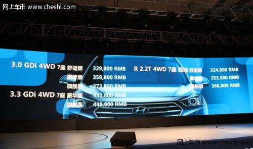 进口现代格锐上市 14款车/32.48-44.88万