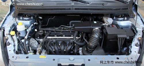自动变速箱来自于日本爱信,尽管只有四个前进挡,在自主品牌a0级小车里