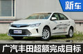 广汽丰田超额完成销量目标 再推2款新车