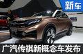 广汽传祺新概念车正式发布 外观酷似宝马
