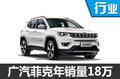 广汽菲克2016年销售近18万辆 大增260%