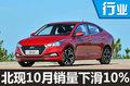 北京现代10月销量下滑10% 终结六连涨-图