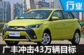 小型车/双擎战略凸显 广丰16年冲43万销量