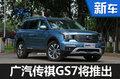 广汽传祺GS7本月全球首发 动力超宝马X3