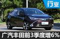 广汽丰田双擎销量增4倍 重回增长通道