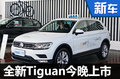大众进口全新Tiguan今晚上市 售价曝光