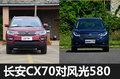 8万7座SUV选谁?长安CX70对比东风风光580