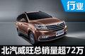 北汽威旺总销量超72万 再推3款全新车型