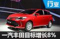 一汽丰田将挑战70万目标 再推两款小型车