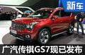 广汽传祺GS7正式发布 动力超宝马X3-图