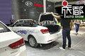 2017成都车展探馆 华骐电动车300E敞篷版