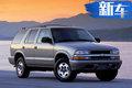 雪佛兰推全新中型SUV-Blazer 将明年1月亮相