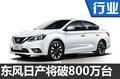 东风日产第800万台将下线  4年实现翻番
