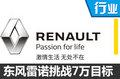 东风雷诺2017销量目标翻倍 推首款电动车