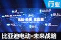 """投资数十亿元 比亚迪推出""""电动•未来""""计划"""