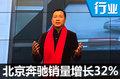 北京奔驰销量增长32%  成奔驰在华推动引擎