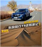 跟着东风风行T5闯入危机四伏的银肯塔拉沙漠