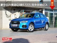 豪华SUV奥迪Q3降5.53万 竞争奔驰GLA
